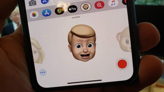 Create your own Memoji.