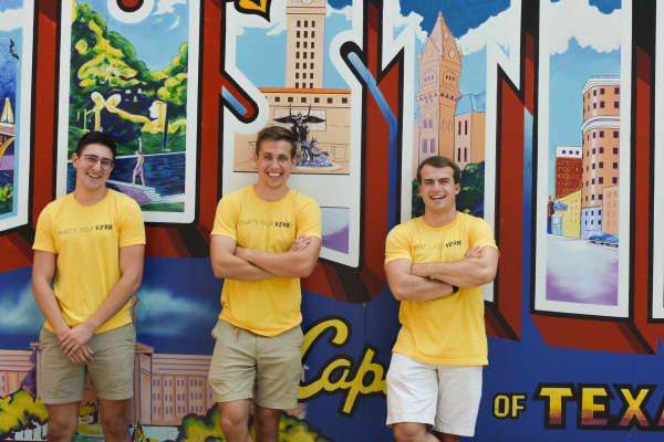Verb co-foundersAndré Monteiro, Bennett Byerley and Matt Czarnecki