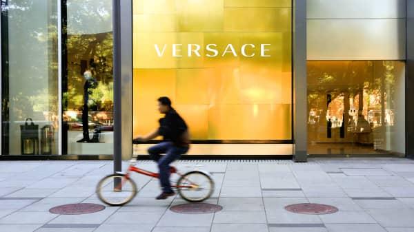 Versace is profitable, says Michael Kors CEO