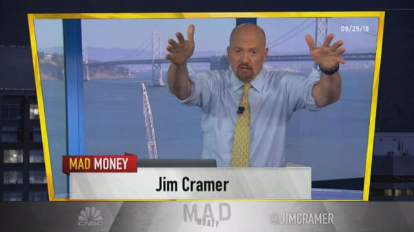Cramer's lightning round: Tesla's stock is too much of a battleground for me