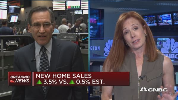 New home sales up 3.5% in August