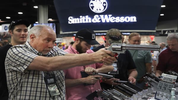 Smith & Wesson proposes company name change