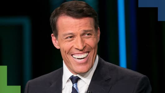 Tony Robbins: Business strategist and life coach to the stars