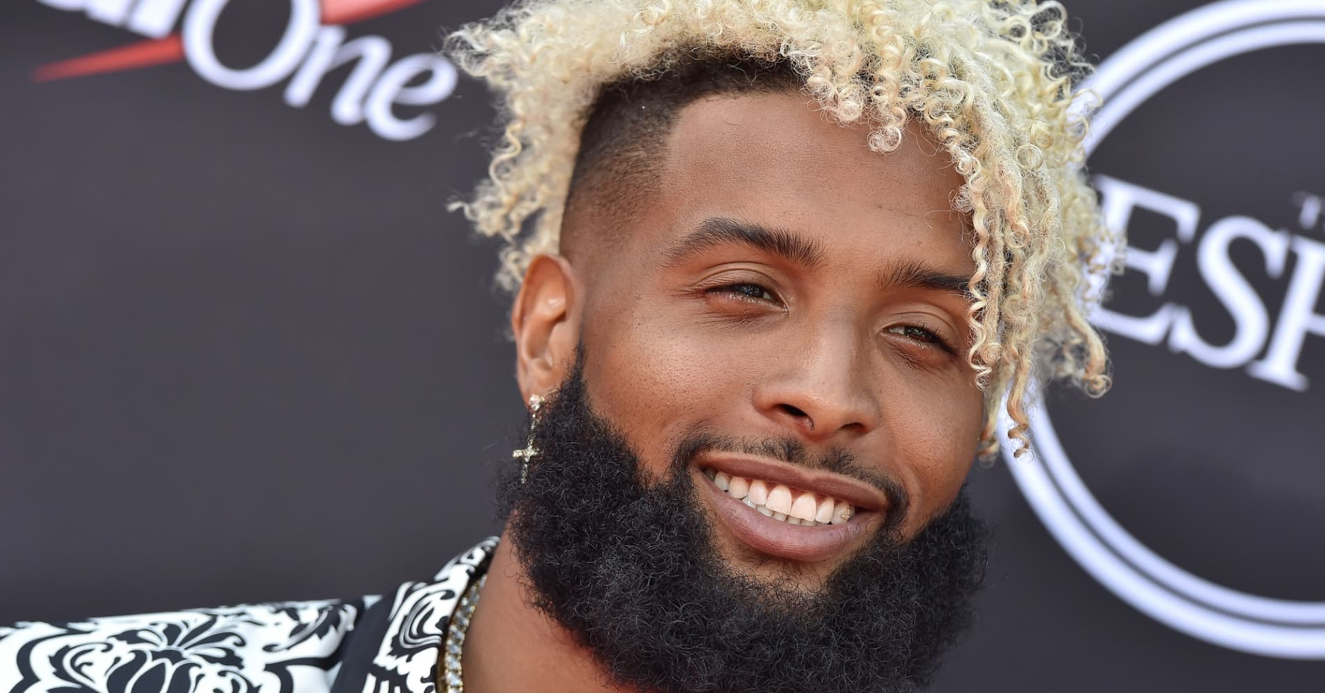 Odell Beckham Jr. attends The 2018 ESPYS at Microsoft Theater on July 18, 2018 in Los Angeles, California.