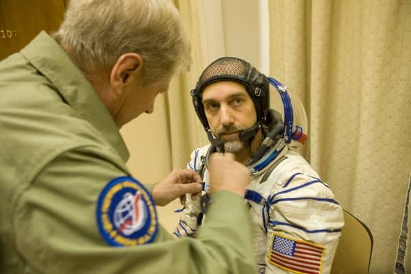 Richard Garriott flew to space in 2008.
