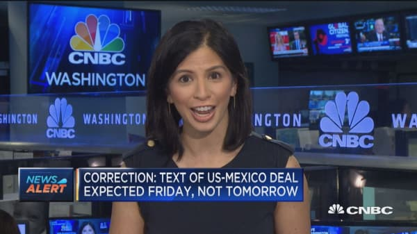 Correction: Text of US-Mexico trade deal expected Friday, not Thursday