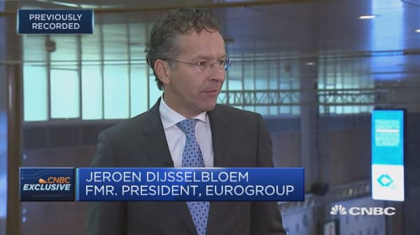 Dijsselbloem: Worried about short-term and long-term impacts of Brexit