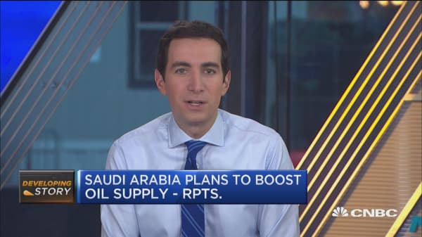 Saudi Arabia plans to boost oil supply: Reuters
