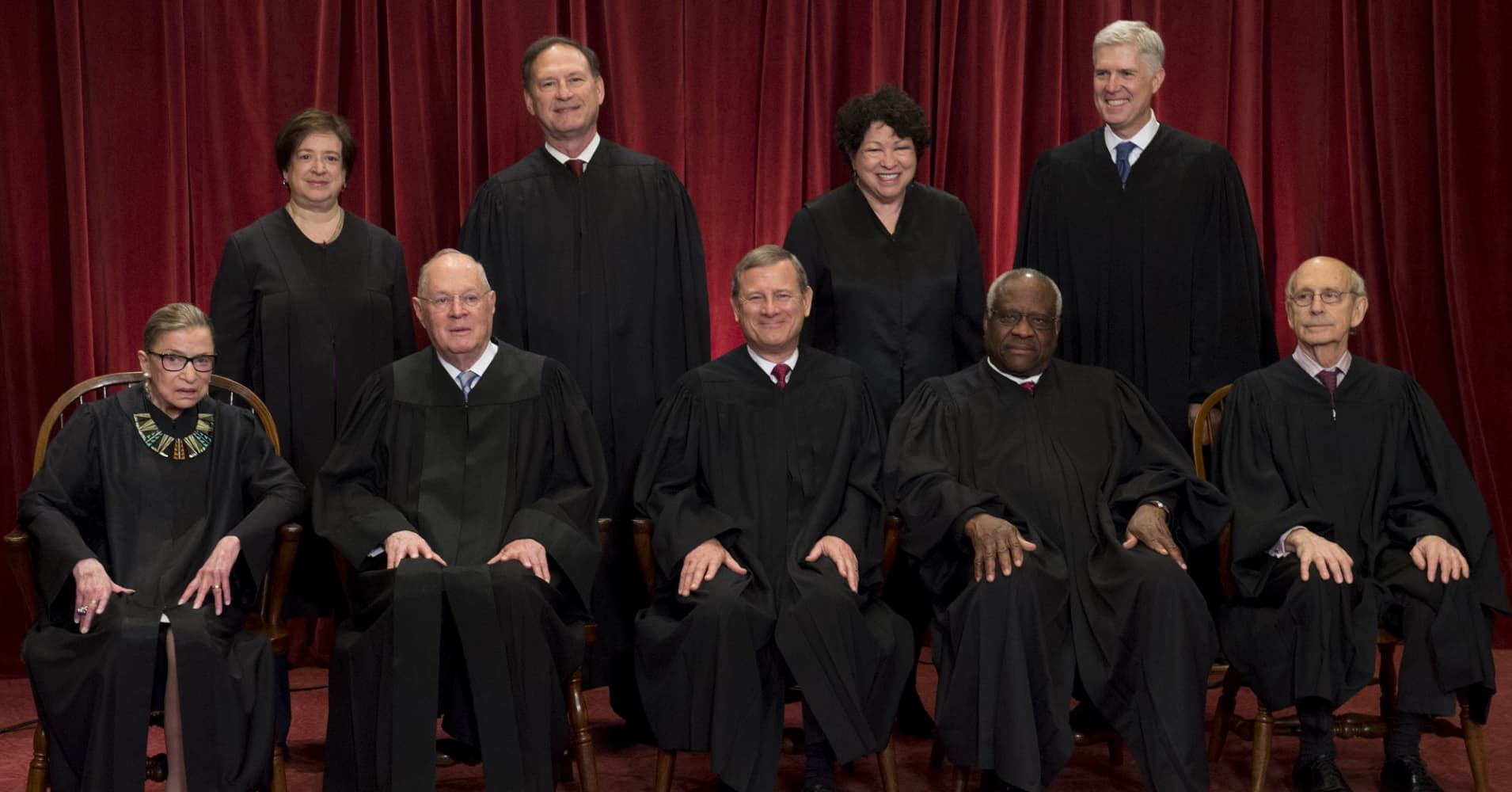 95 percent of Supreme Court justices have been white men