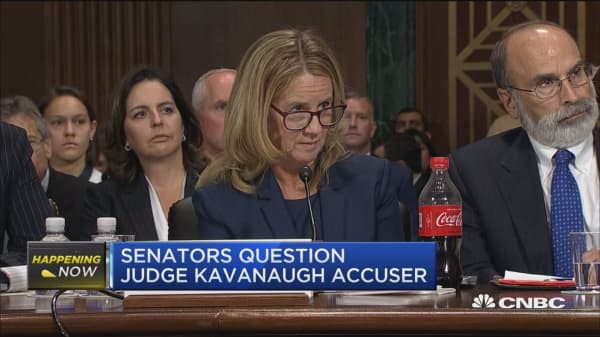 Christine Blasey Ford: No political motivation for coming forward