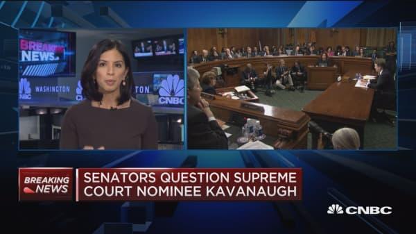 Brett Kavanaugh angrily denies allegations in Senate testimony