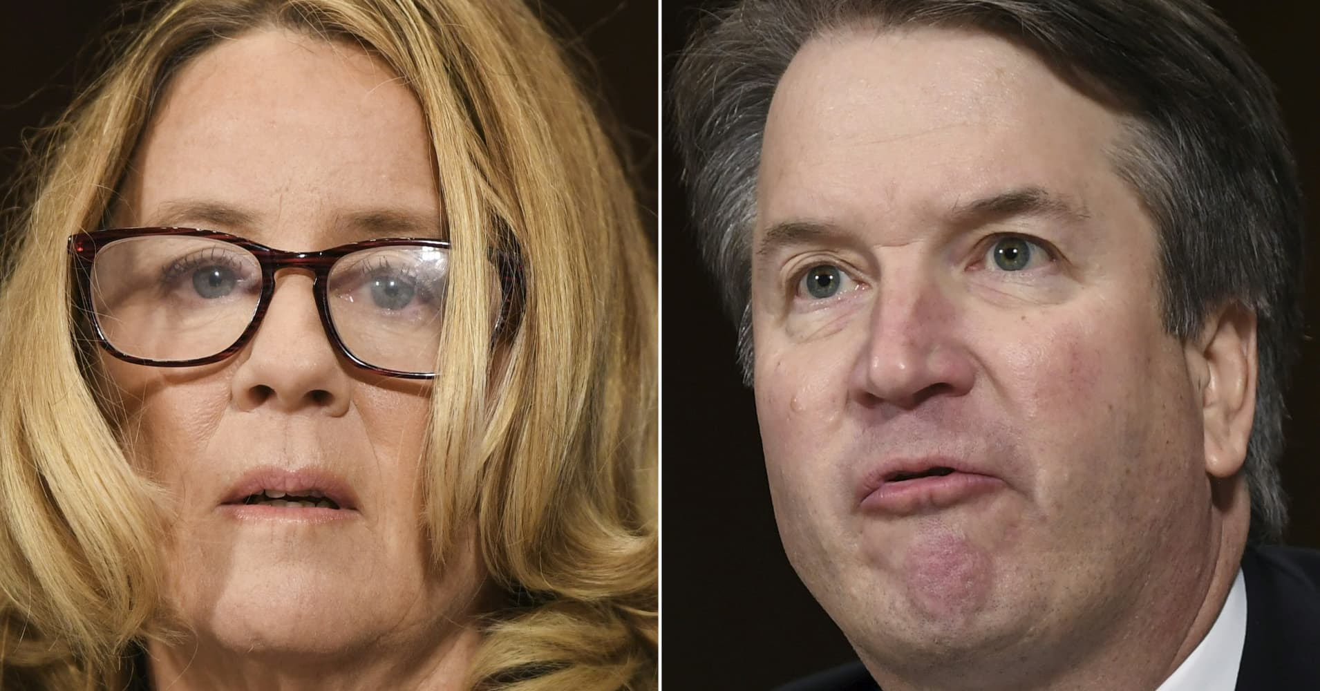 Watch The Key Moments From Kavanaughs And Christine Blasey Fords