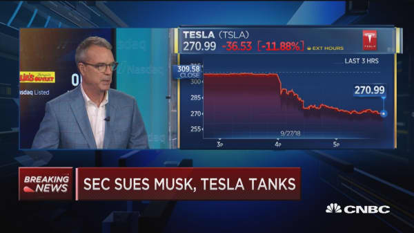 Musk could still be an important piece of Tesla, he just couldn't run the thing: Stewart