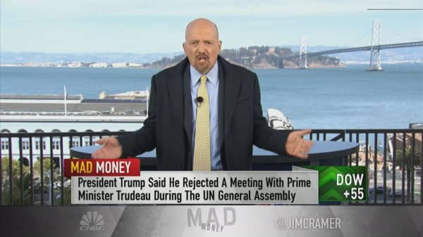 No longer the art of the deal, but 'the art of destruction': Cramer on Trump's Canada jab