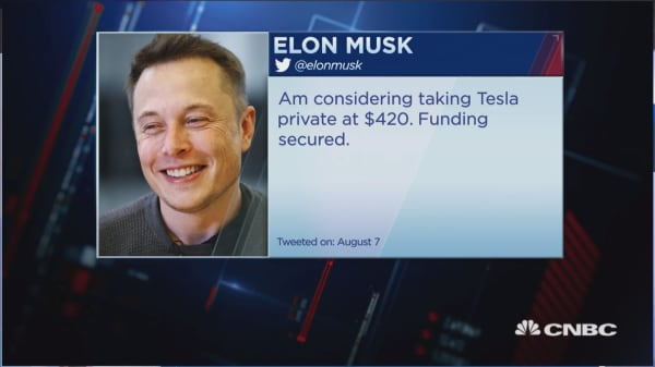 SEC sues Tesla CEO Elon Musk for fraud