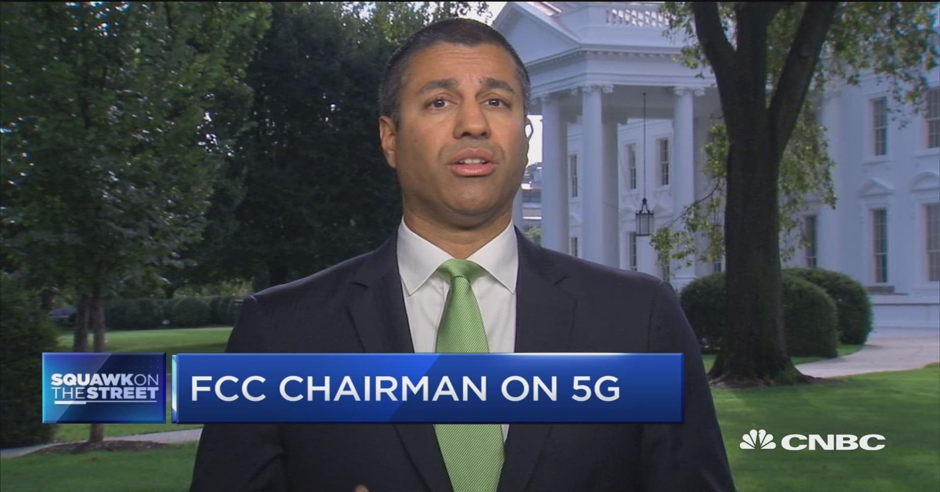 FCC chair says regulations, not tariffs, are biggest barrier to 5G