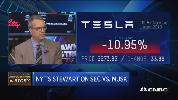 Cannot fathom why Musk turned down SEC deal, says NYT's Stewart