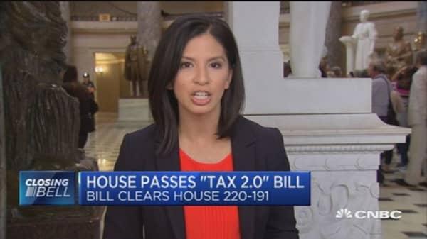 House passes Tax Reform 2.0
