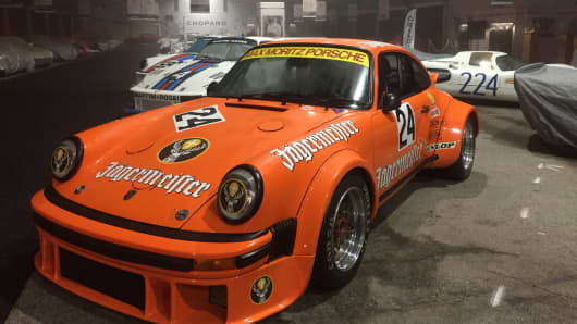 This 1976 Porsche 934 Turbo RSR has a top speed of 188 mph.