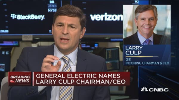 'Frustrated' GE board names Larry Culp CEO