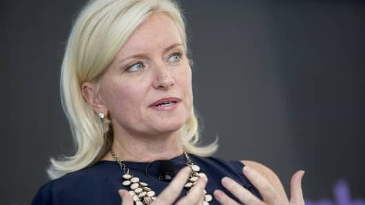 Carolyn Everson, vice president of global marketing solutions at Facebook Inc.