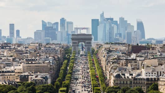 Paris set to triumph as Europe's post-Brexit trading hub