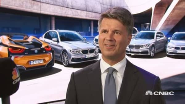 BMW CEO: We have a strategy to deal with a trade war