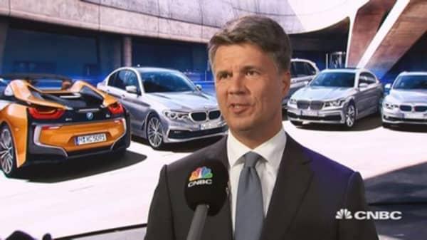 BMW CEO: The auto market is at different speeds around the world.