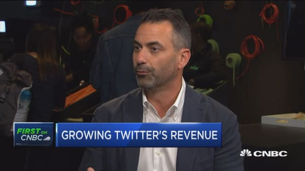 Twitter ad chief on Twitter's ad strategy and fighting election manipulation