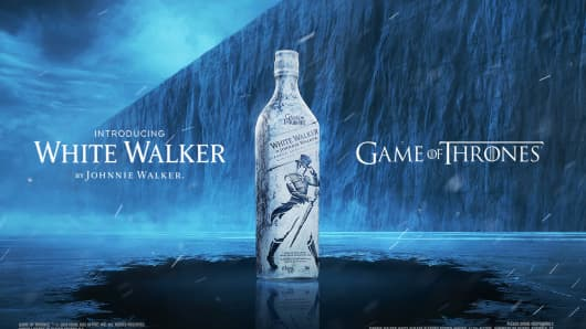 Game of Thrones gets it's own White Walker Whiskey.