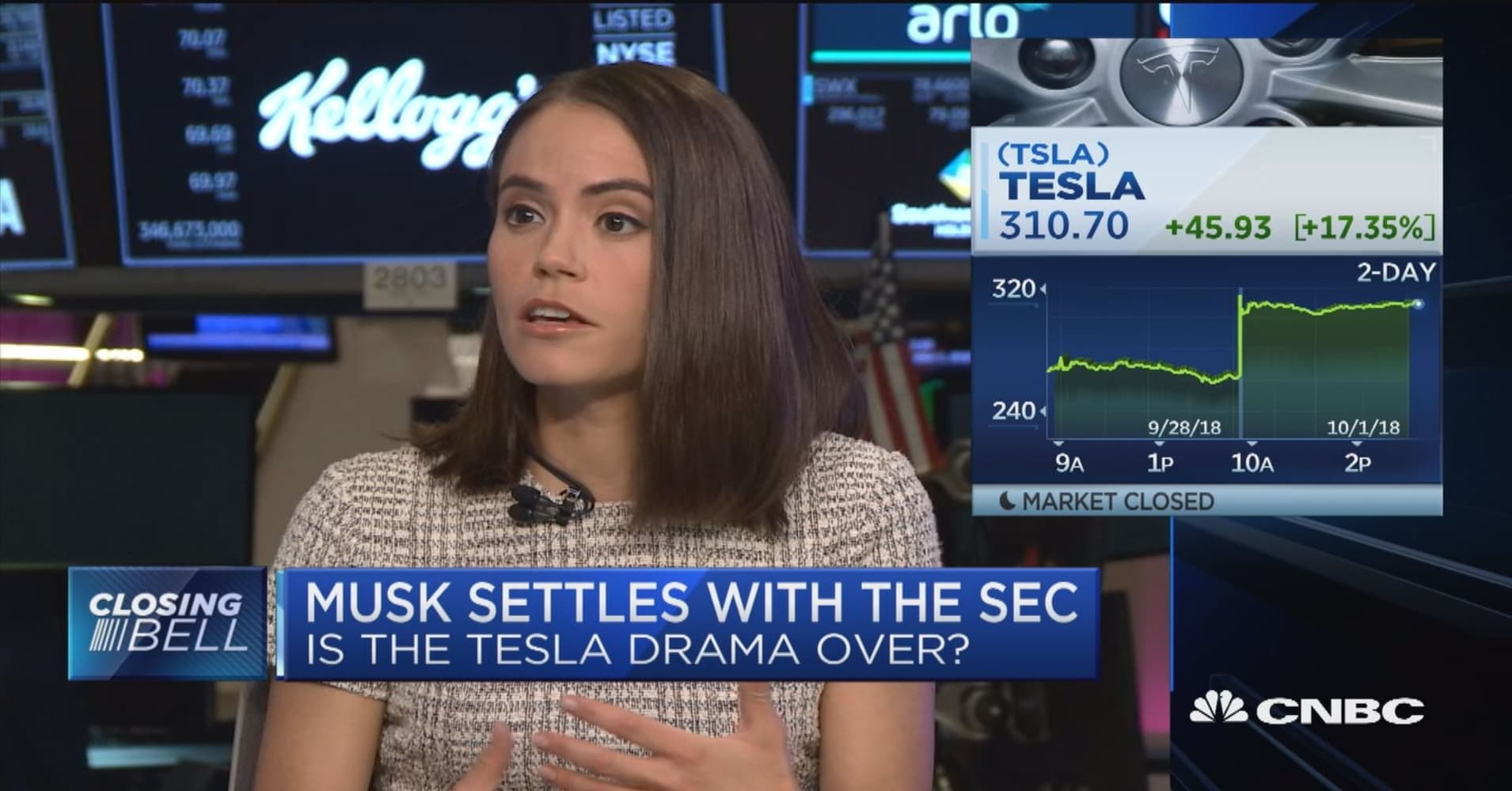 Tesla stock could go as high as $4,000 within the next five years, expert  says