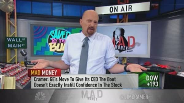 CEO change could mean GE doing worse than expected: Cramer