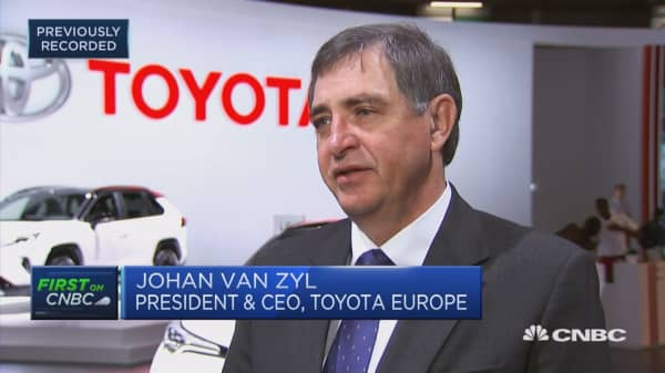 Toyota Europe CEO: We face logistics problems in case of hard Brexit