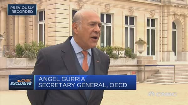 OECD secretary general: USMCA deal a 'win, win, win' proposition