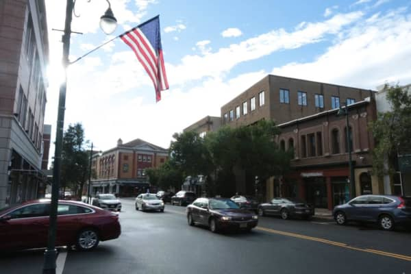 Downtown Summit, NJ in the 7th Congressional District.