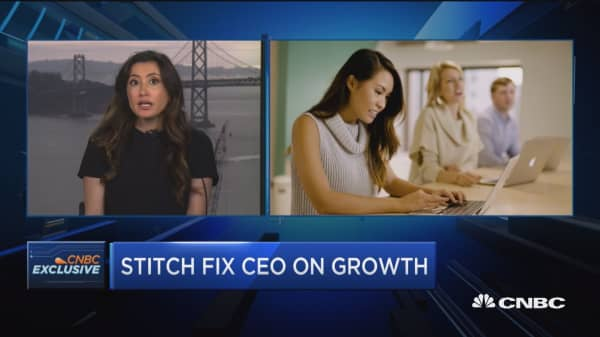 Stitch Fix CEO: Brand marketing will play a big role in driving engagement
