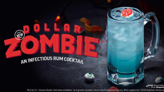 Applebee's Dollar Zombie drink