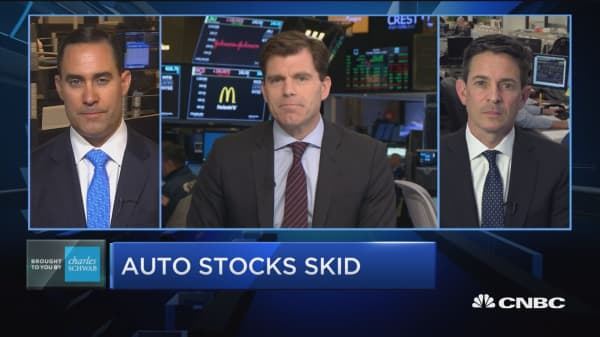 Trading Nation: Auto stocks skid