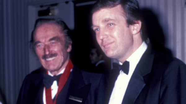 Fred Trump And Donald Attend 38th Annual Horatio Alger Awards Dinner On May 10