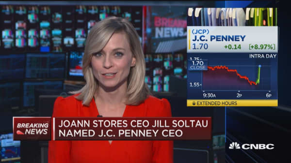 Joann Stores CEO Jill Soltau named JC Penney CEO