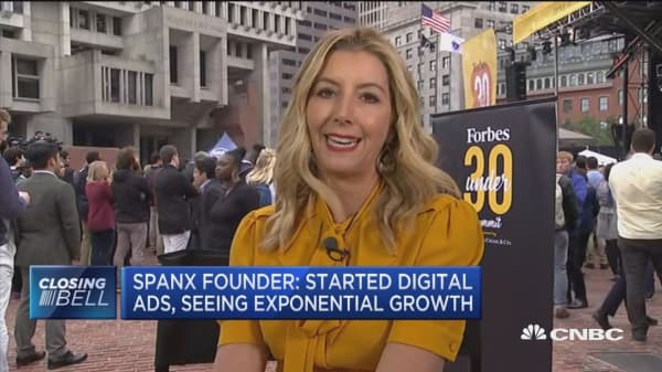 Billionaire Spanx founder on going public, sales growth, trade tensions
