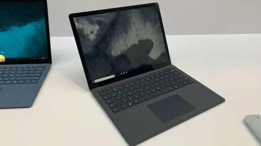 Microsoft's new Surface Laptop 2, which starts at $999