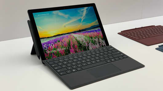 Microsoft's Surface Pro 6 convertible laptop, which starts at $899.