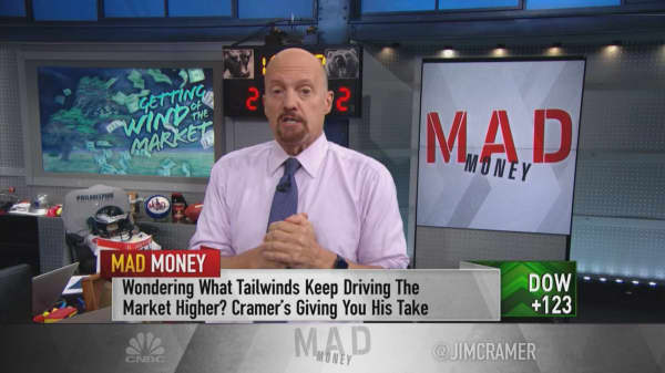 Two tailwinds sending the stock market to record highs