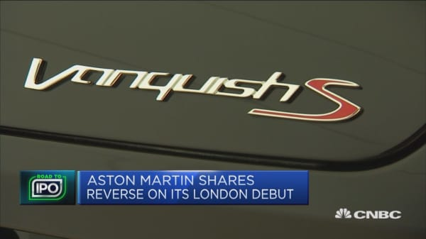 Aston Martin IPO priced well, analyst says