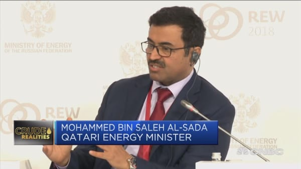 Qatar energy minister: OPEC not trying to manipulate oil prices