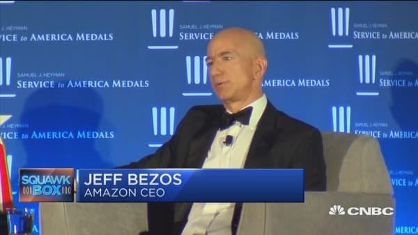 Jeff Bezos talks $15 minimum wage
