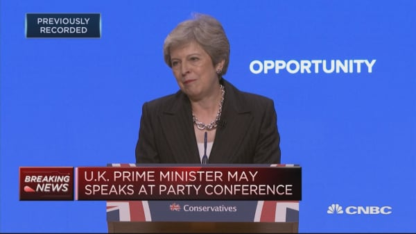 UK prime minister: There is no limit to what we can achieve