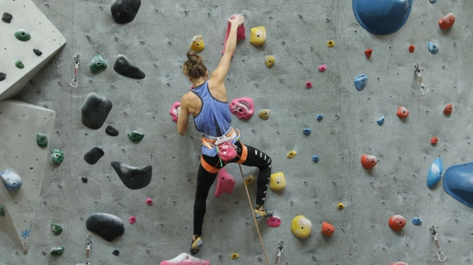 How this 20-year-old rock climber sponsored by The North Face is breaking the glass ceiling