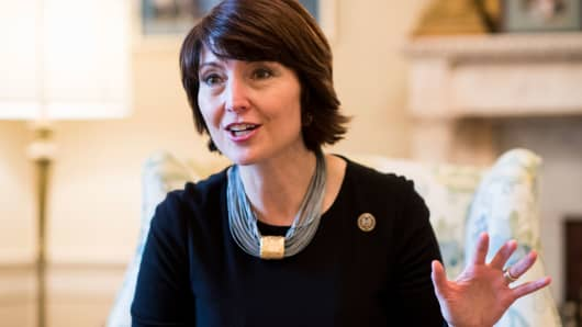 Republican Conference Chair Cathy McMorris Rodgers, R-Wash.